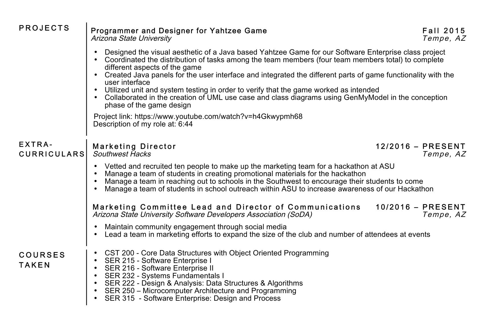 Programing Resume Resume Format Programmer Object Oriented Programmer  Resume Sample Livecareer
